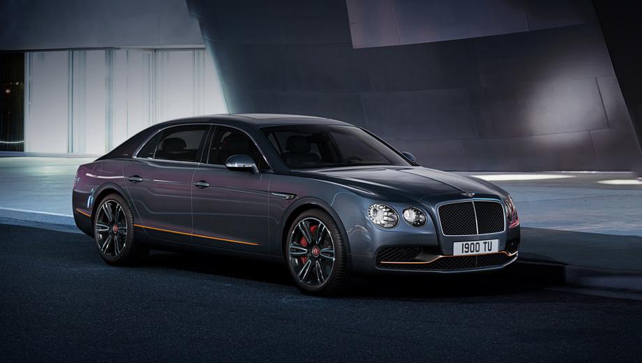 Bentley continental flying spur. Седан Bentley Flying Spur Design Series by Mulliner доступен в четырёх модификациях ― V8 (507 л.с., 660 Н•м), V8 S (528 л.с., 680 Н•м), W12 (625 л.с., 800 Н•м) и W12 S (635 л.с., 820 Н•м). Всего планируется сделать 100 автомобилей.