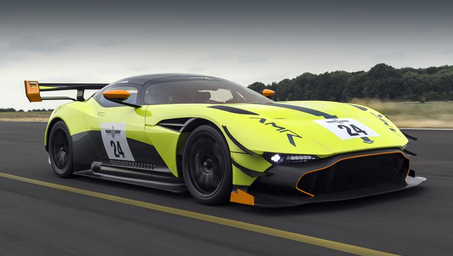 Астон Мартин представил экстремальное спортивное авто Vulcan AMR Pro
