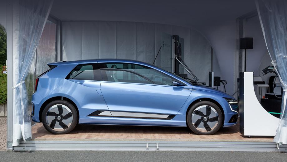 Компания Фольксваген показала прототип будущего Golf