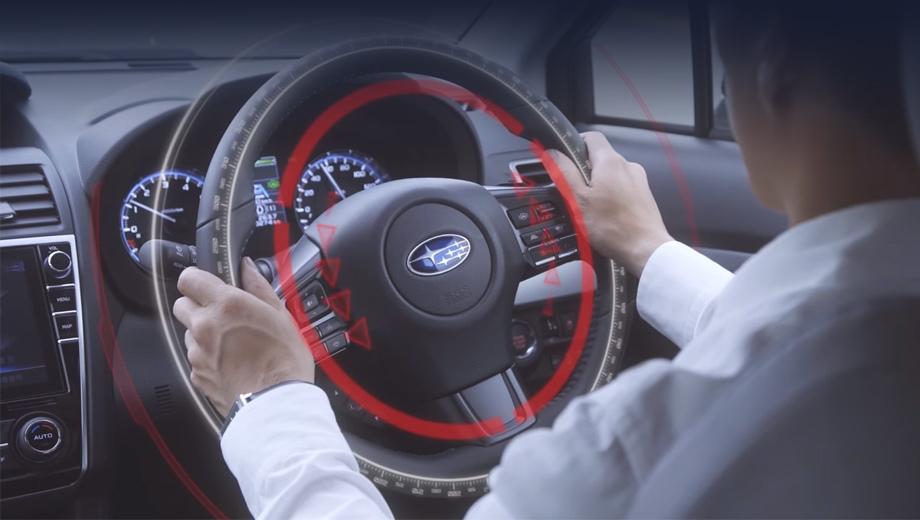 Subaru impreza,Subaru wrx,Subaru levorg. Автопилот Touring Assist использует стереокамеру EyeSight для определения разметки и соседних автомобилей.