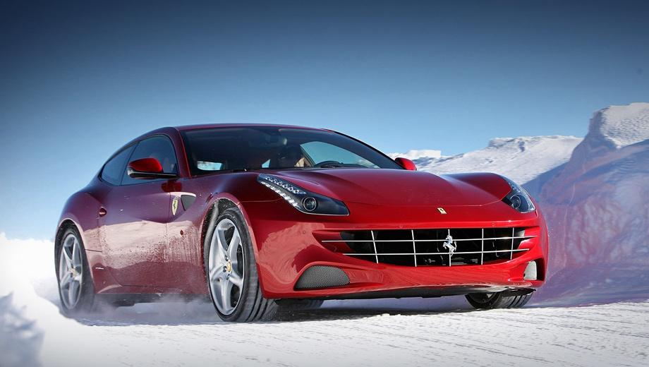 Ferrari suv. Звание первого в автомобильной истории полноприводного Ferrari принадлежит трёхдверке FF, дебютировавшей в 2011 году. Автомобиль получил мотор V12 6.3 и запатентованную трансмиссию без второго кардана, но с двухступенчатой главной передачей. За пять лет в Европе купили 1349 машин.