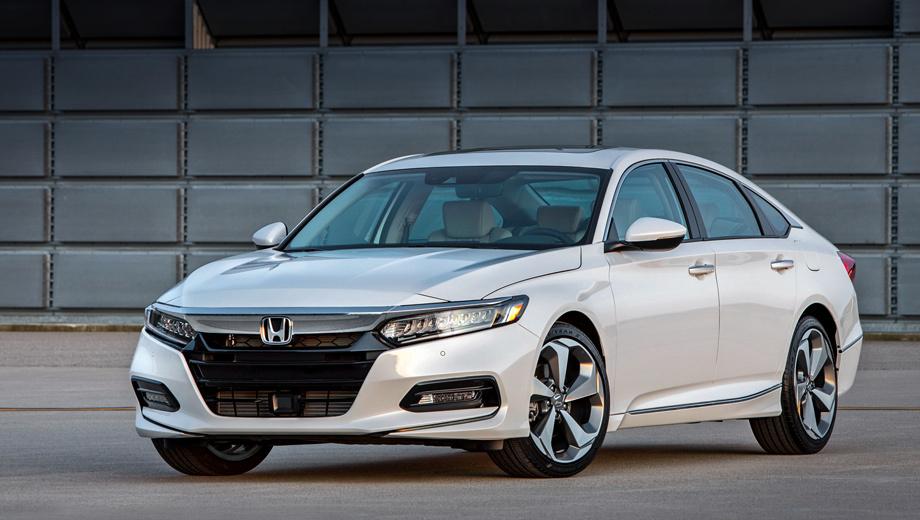Honda accord. По слухам в американской прессе, цены на Accord поднимутся несильно и останутся конкурентоспособными. За машину девятого поколения просят сейчас от $22 455 до $34 930. Для справки, за Camry в Штатах нужно заплатить $23 495−34 400.
