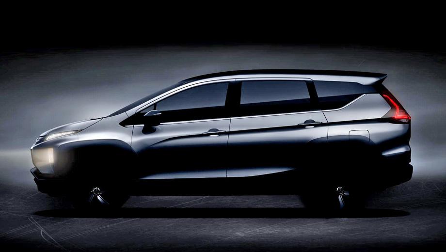 Mitsubishi xm,Mitsubishi pander. Как и предсказывалось, серийная машина с точностью до 85% повторяет концепт Mitsubishi XM. С крыши убраны рейлинги, установлены привычные дверные ручки и боковые зеркала.