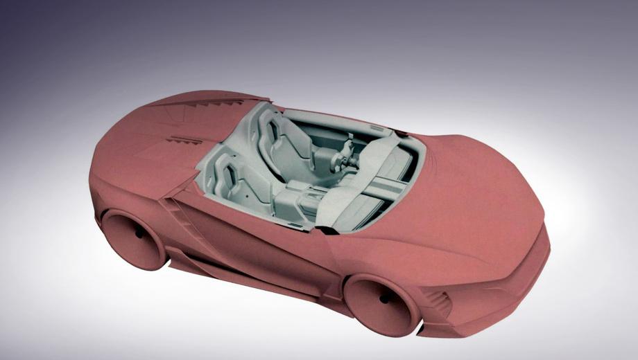 Хонда запатентовала дизайн нового спорткара