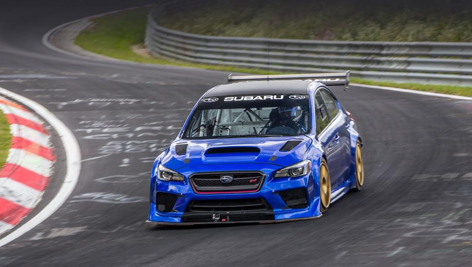 Subaru wrx,Subaru wrx sti,Subaru wrx sti type ra nbr special. Японско-британский WRX обошёл на Ринге «итальянку» Alfa Romeo Giulia Quadrifoglio (её время равно 7:32). Но за Альфой остаётся звание самого быстрого на Северной петле серийного седана.