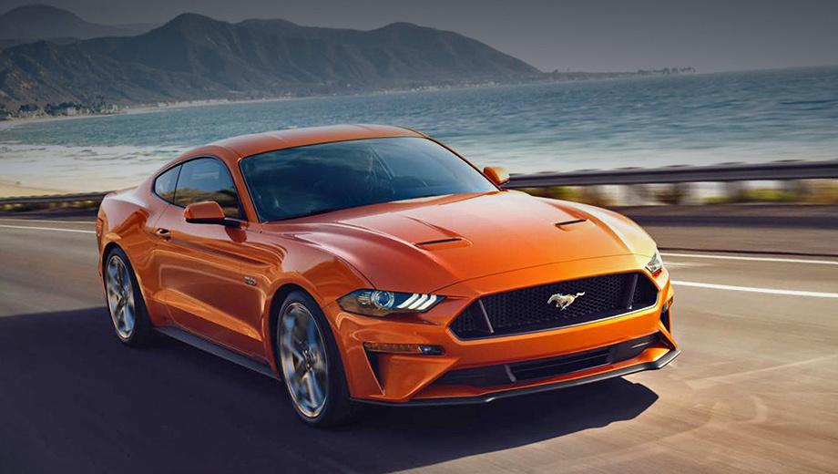 Новый Форд MustangGT обставит Порше 911