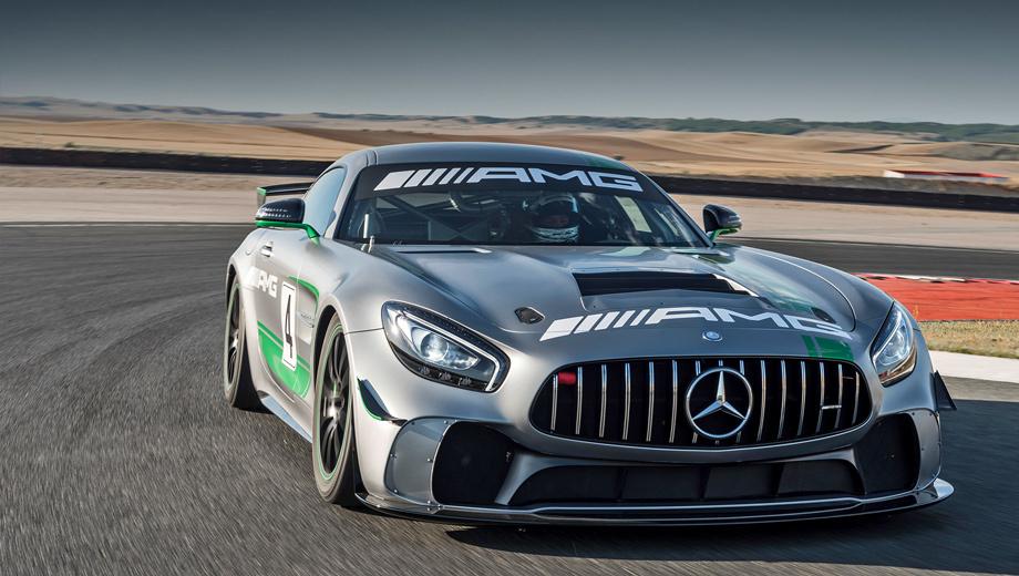 Mercedes amg gt,Mercedes amg gt4,Mercedes amg gt r. Публичный показ спорткара состоится 29–30 июля на трассе Спа-Франкоршам. В настоящий бой родственник моделей Mercedes SLS AMG GT3 и  Mercedes-AMG GT3 ринется только в конце года. Ему ещё предстоит завершить программу тестирования, покрыв на треке более 30 000 км.