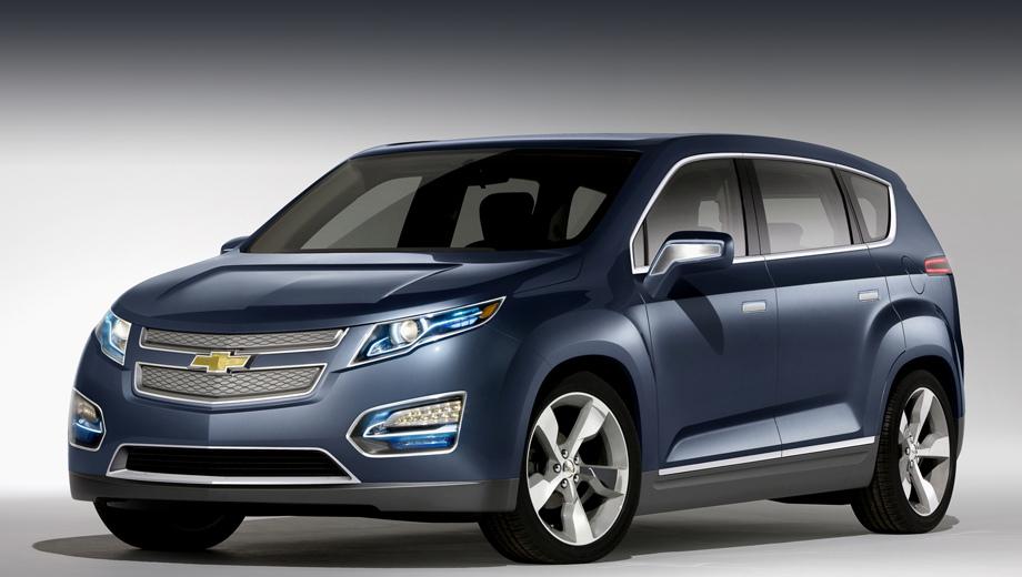 Chevrolet volt. Прообраз Вольта-кроссовера был построен в далёком 2010 году. Концепт Volt MPV5 был представлен на автошоу в Пекине. Серийный вариант, конечно, получит куда более современную начинку и соответствующую году выхода внешность.