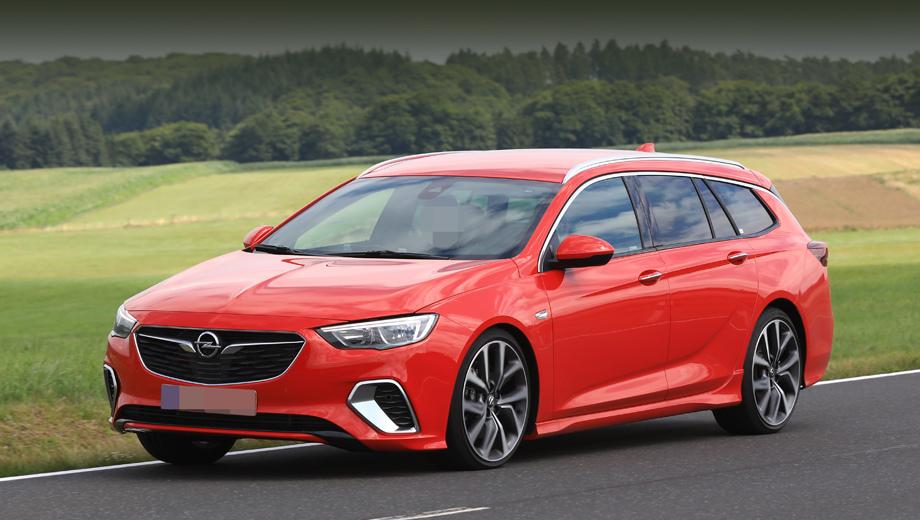 Opel insignia,Opel insignia gsi. Более агрессивный на вид бампер и накладки на пороги выдают в этом универсале непростую версию. Машина проходит последние доводочные тесты.