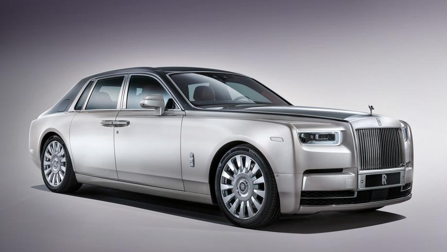 Rollsroyce phantom. Бензиновый Rolls-Royce Phantom будет исключительно заднеприводным. Тяга на ведущую ось поступает через доработанный восьмиступенчатый «автомат» ZF, алгоритм работы которого теперь завязан на навигацию.