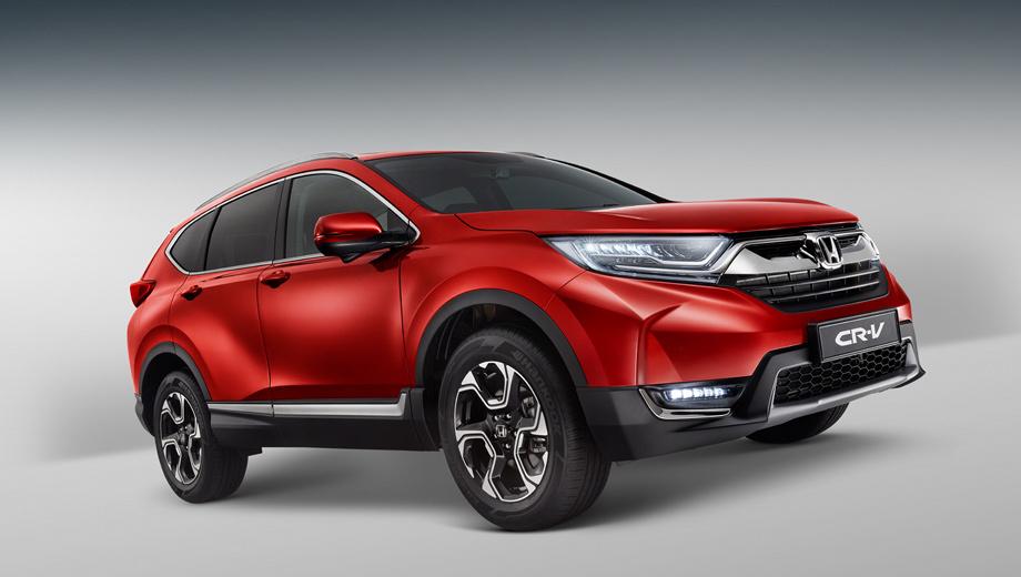 Honda cr-v. До сотни двухлитровая Honda добирается за 11,9 с — на 1,7 медленнее старшей версии. Максималка — 188 км/ч против 190. Расход бензина (можно лить АИ-92) в смешанном цикле — 7,5 л/100 км.