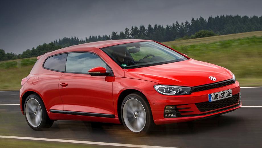 Volkswagen scirocco. Продажи Scirocco в Европе уже пять лет держатся примерно на одном невысоком уровне. В 2016 году удалось реализовать 10 752 машины по ценам от 24 950 евро (1,7 млн рублей). Российский рынок модель покинула в 2015-м.