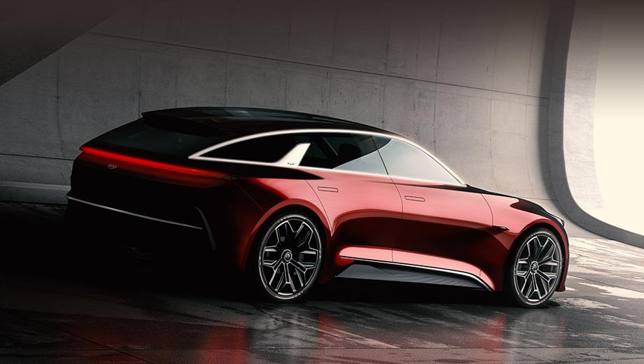 Kia concept,Kia proceed. Везти машину для показа далеко не придётся: шоу-кар построен в европейском дизайнерском центре KIA, расположенном в нескольких десятках метров от комплекса Frankfurt Messe.