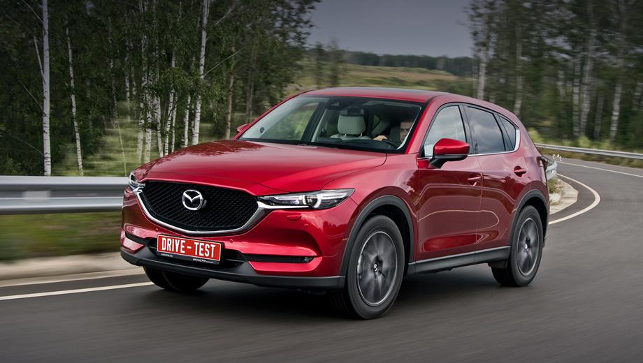 Mazda cx-5. Всё начинается с 1 431 000 рублей за моноприводный СХ-5 2.0 с «механикой». Четыре ведущих колеса и «автомат» ― это минимум 1 721 000. Доплата за мотор 2.5 (194 л.с. против 150) ― 110 тысяч. Потолок цен — 2 216 600.