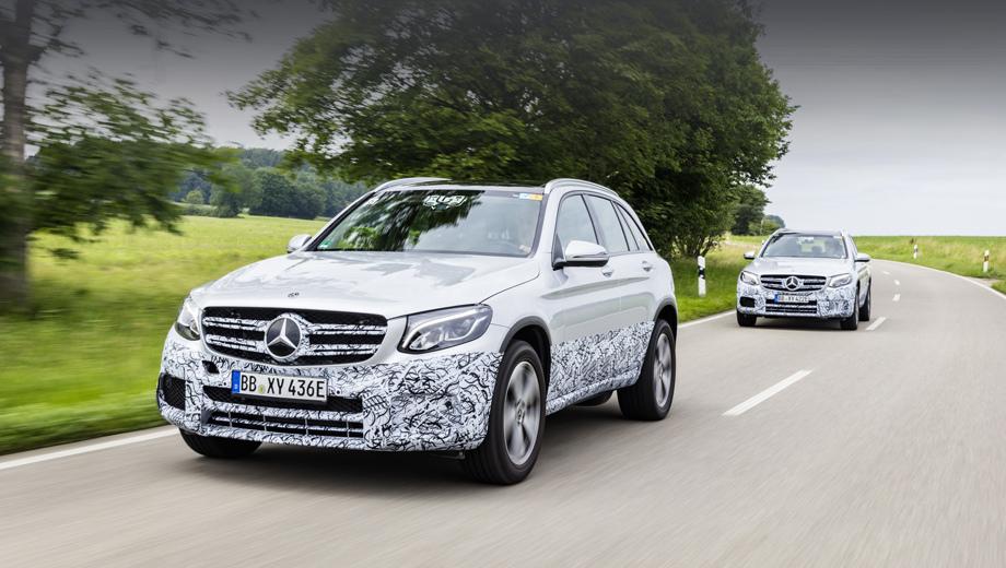 Mercedes glc,Mercedes glc f-cell. На дорогах паркетники GLC с топливными элементами прошли более 500 различных тестов.