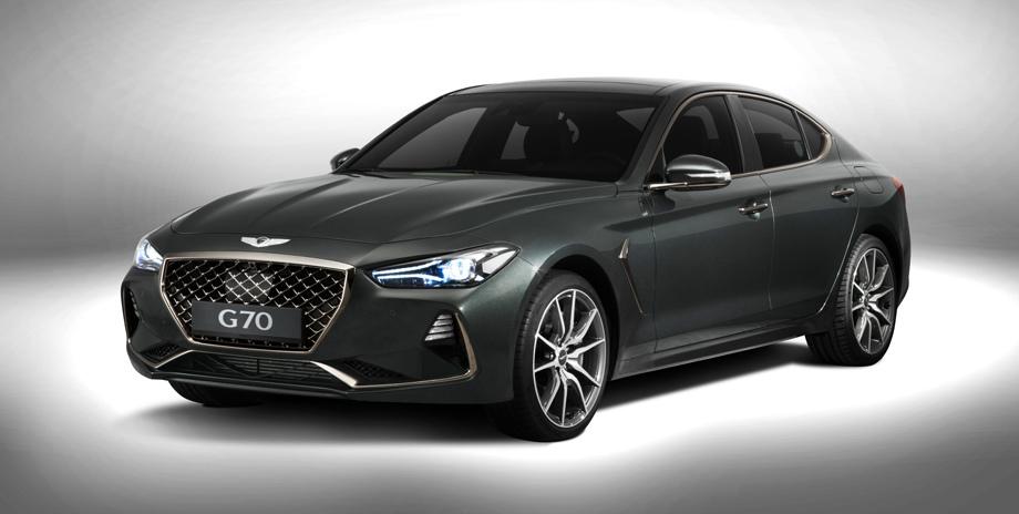 Genesis назвал сроки появления нового седана G70 в Российской Федерации