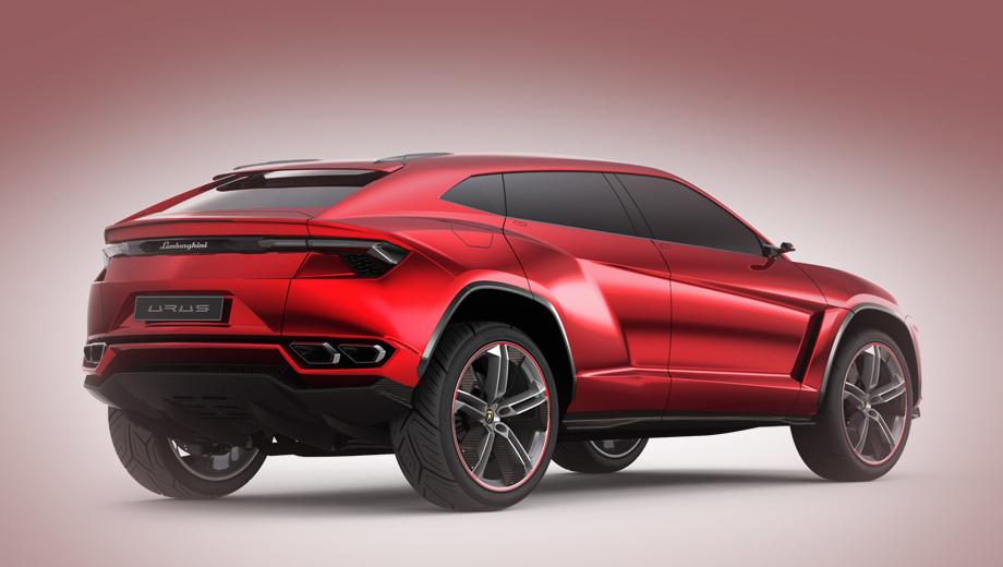 Lamborghini urus. За неимением лучшего, пока смотрим на давний концепт и представляем, за что компания попросит порядка 200 000 евро.