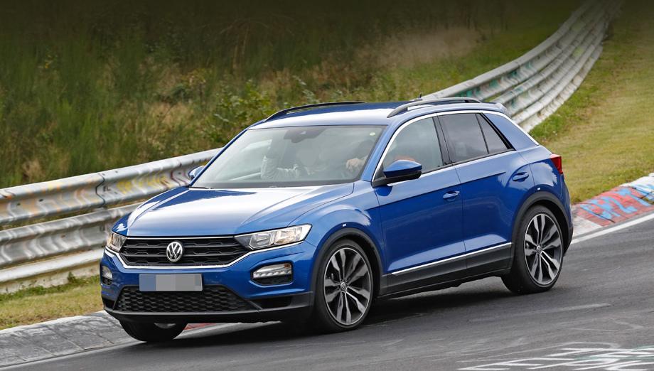 Volkswagen вывел на испытания «заряженную» версию T-Roc