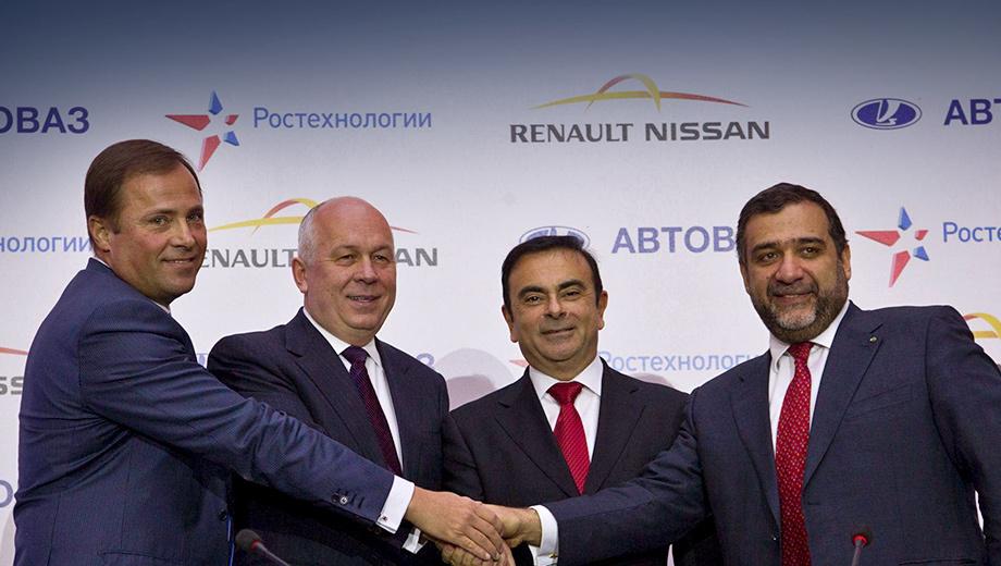 Рено выкупил акции «АвтоВАЗа» у Ниссан
