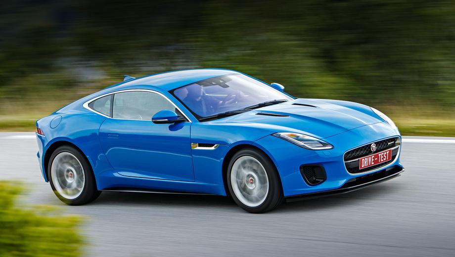 Jaguar f-type. Четырёхцилиндровое купе без опций стоит 4,5 млн рублей, родстер ― 5,2 млн. Оба получаются на полновесные 657 тысяч дешевле, чем заднеприводные версии V6. Неосторожное обращение с конфигуратором способно увеличить цену на два миллиона.