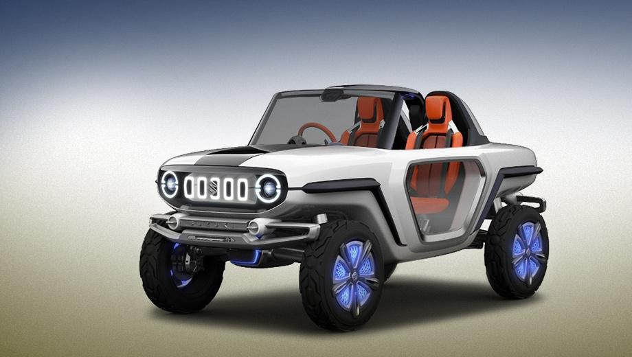 Сузуки представит джип e-Survivor на автомобильном салоне вТокио