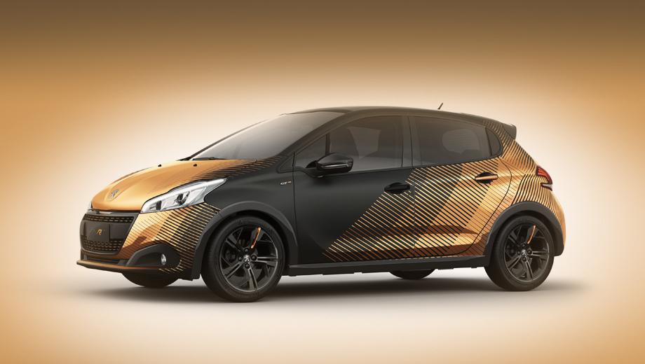 Peugeot 208,Peugeot 2008. Электрический 208-й будет проходить на одной зарядке порядка 300 км, утверждают инсайдеры (на фото — концепт 208 Pyrit).