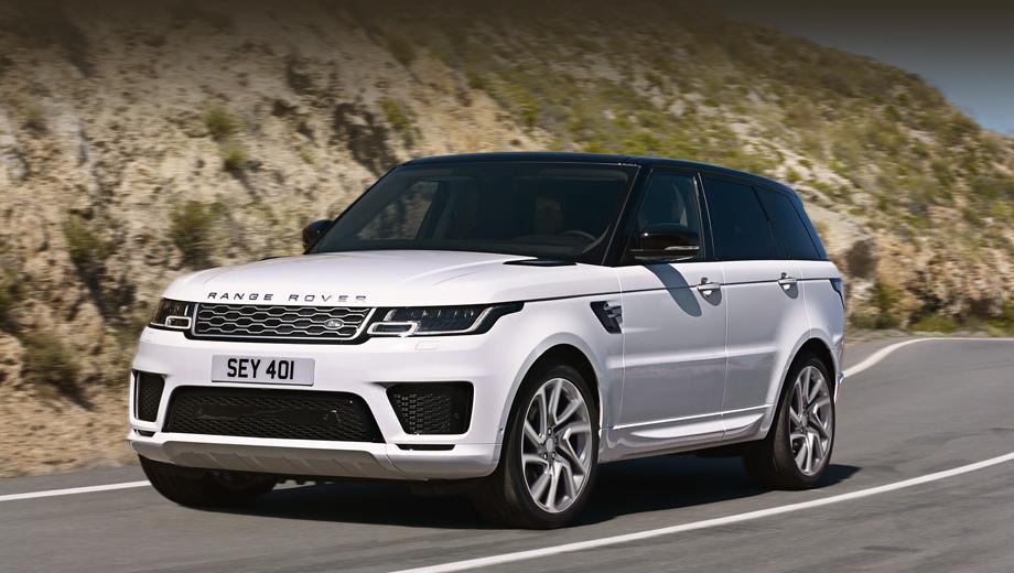 Обновлённый внедорожник Range Rover Sport подключился к ...