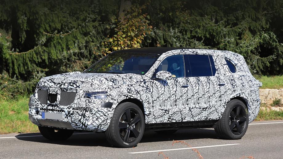 Mercedes gls. Интересно, что GLS числится среди моделей, которые будут локализованы в России на новом заводе Даймлера в Подмосковье.