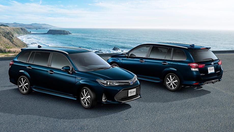 Тойота  выведет нарынок обновлённые Corolla Axio иCorolla Fielder
