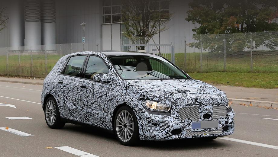 Mercedes b. Новый B-класс несёт заводской индекс W247, тогда как «ашка» — W177. У B-класса это будет третье поколение. Нынешнее было представлено во Франкфурте-2011.
