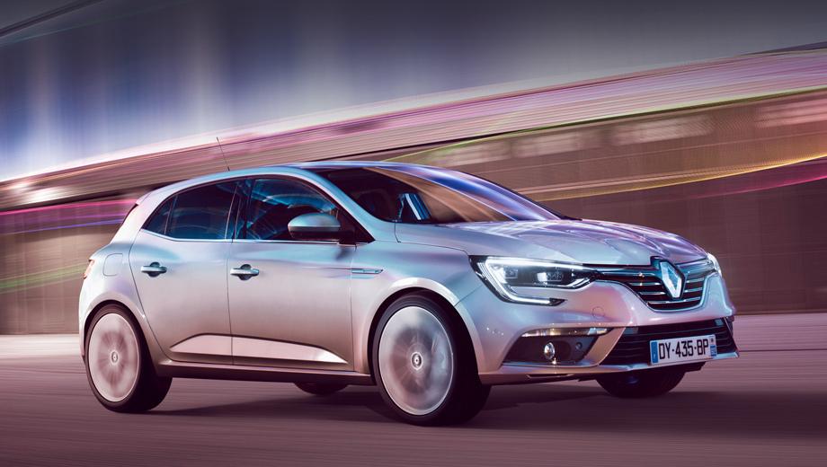 Renault megane. В комбинированном цикле NEDC новая версия Мегана расходует шесть литров бензина на сотню, выбрасывая углекислого газа 134 г/км.