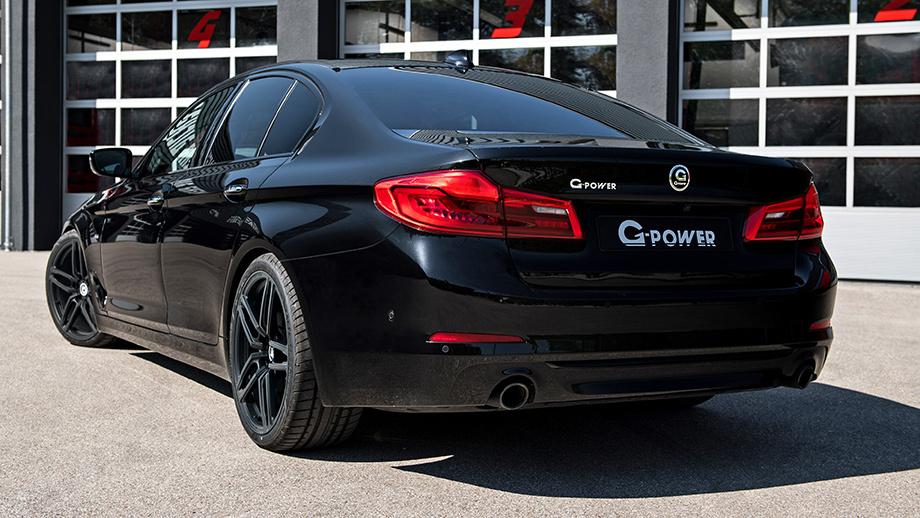 Тюнинг-ателье G-Power поработало над новым седаном БМВ 5 Series