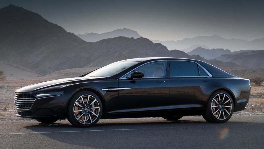 Aston martin lagonda,Aston martin lagonda taraf. Заднеприводный седан, построенный на платформе VH, оснастят двигателем V12 мощностью 565 л.с. До 100 км/ч новинка сможет разгоняться за пять секунд.