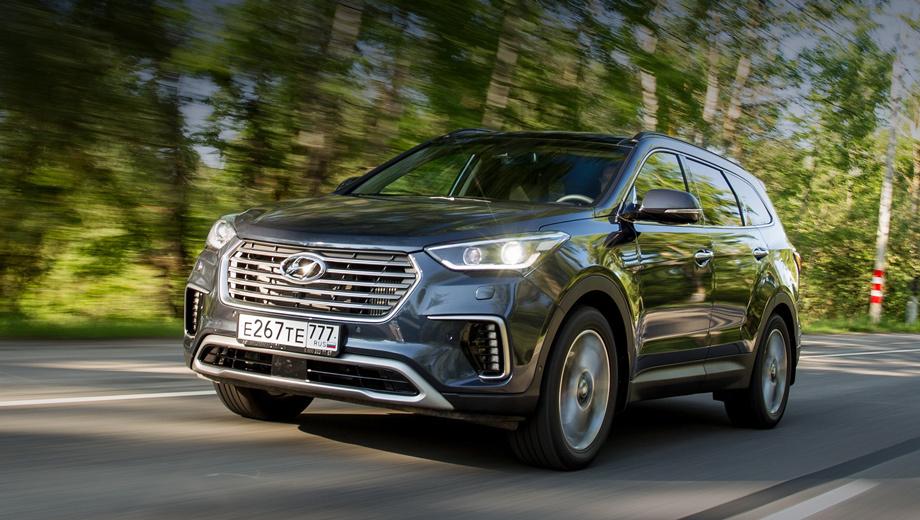 Hyundai grand santa fe. Осенью прошлого года Grand Santa Fe пережил рестайлинг и встал на конвейер калининградского «Автотора». В 2018-м ожидается новое, четвёртое поколение модели.