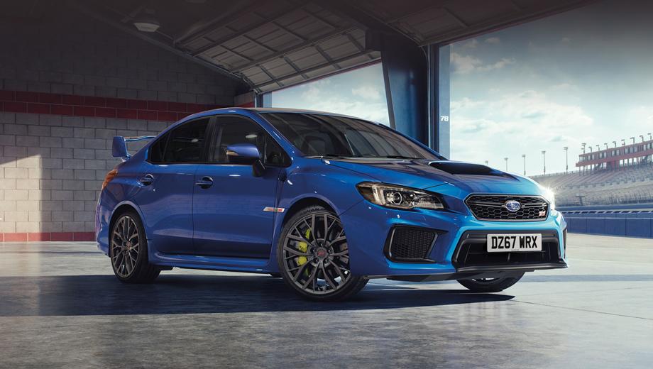 Subaru wrx sti. Автомобилю подарены светодиодные фары, автоматически переключающиеся между дальним и ближним по сигналу фронтальной камеры и отклоняющие луч вслед за поворотом руля.