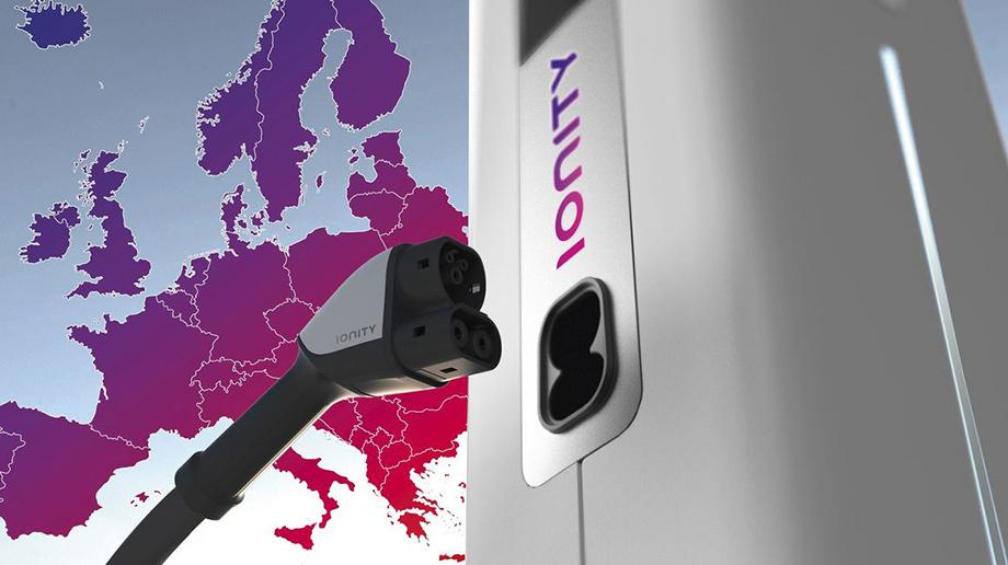 Автоконцерны построят вевропейских странах  сеть станций для зарядки электромобилей