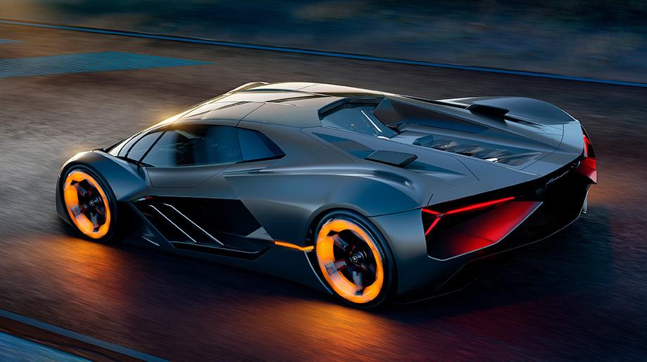 Lamborghini представила концепт-кар «самозалечивающегося суперкара будущего»