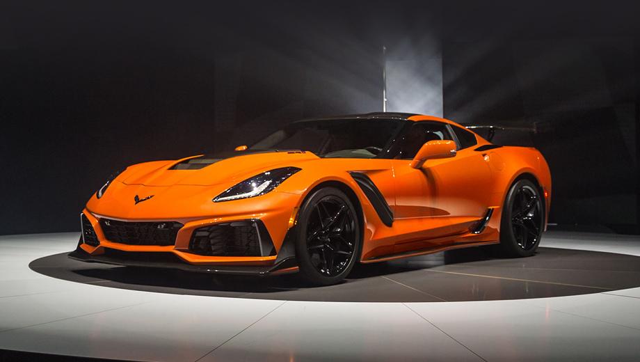 Chevrolet corvette,Chevrolet corvette zr1. Американцы уточняют: перед нами не только самый быстрый и мощный Corvette, но и самый мощный серийный Chevrolet.