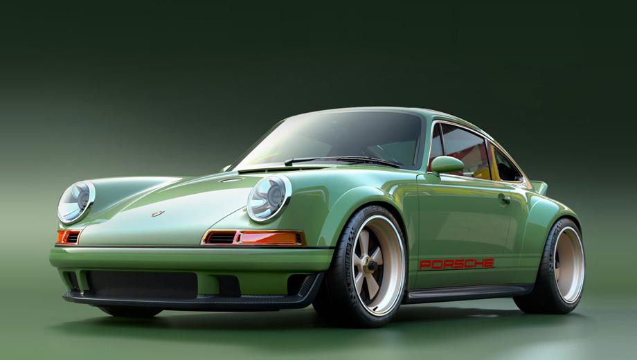 Porsche 911. Купе основано на «девятьсот одиннадцатом» 1990 года серии 964. Авторы подчёркивают: продукт нельзя называть Singer 911, Singer Porsche 911 или в таком духе. Это, мол, просто Porsche 911, но отреставрированный.