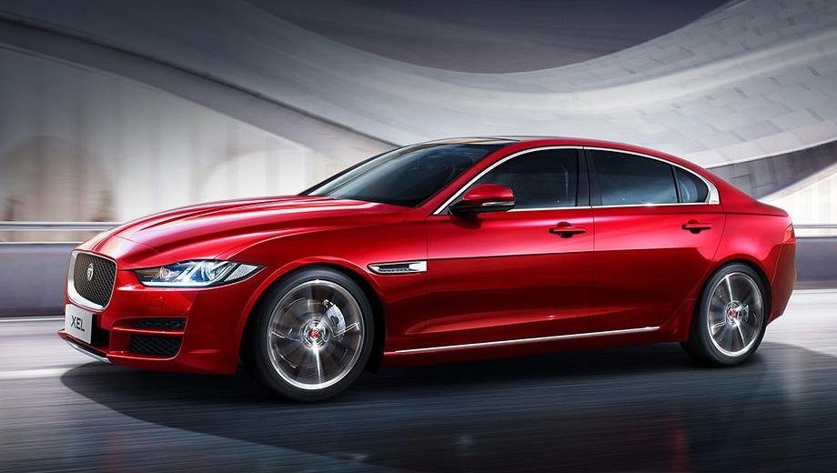 Jaguar xe,Jaguar xel. Jaguar XEL технически копирует европейский XE. У китайской версии кузов по большей части состоит из алюминия, установлен электроусилитель руля, а также двухрычажная подвеска спереди и многорычажная сзади. Однако пружины и амортизаторы перенастроены на более комфортный ход.