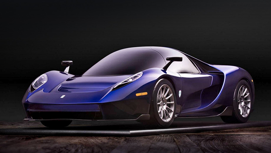 Компания SCG выпустила трехместный карбоновый суперкар