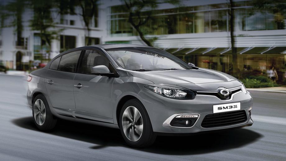 Улучшенный электромобиль Рэно Самсунг SM3 Z.E. появился впродаже