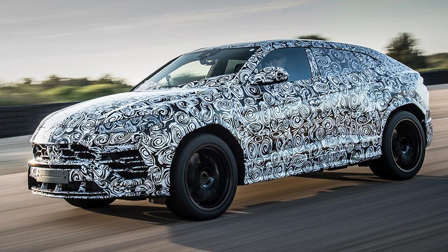 Lamborghini выпустит гибридную версию Urus с700-сильным «движком» отPanamera