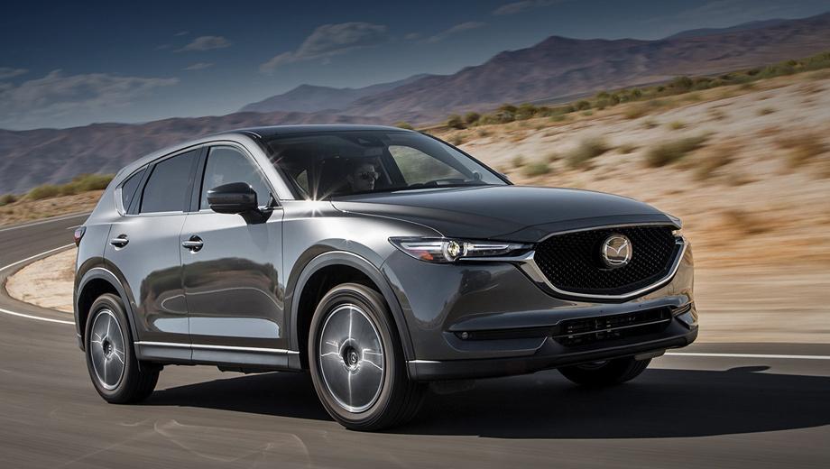 Кроссовер <b>Mazda CX</b>-<b>5</b> станет ещё экономичнее — ДРАЙВ
