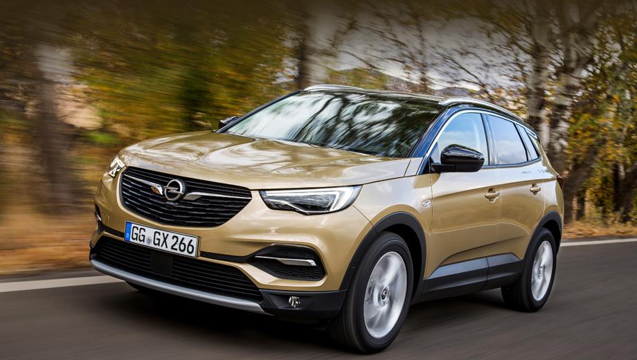 Opel grandland x. Расход новой версии в комбинированном европейском цикле равен 4,81−4,9 л/100 км. Разгон с нуля до сотни занимает 9,1 с. Максималка — 214 км/ч. Масса буксируемого прицепа — две тонны.