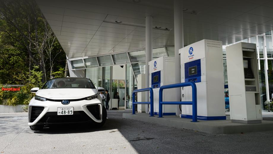 Большие японские автопроизводители объединились ради сети водородных заправок