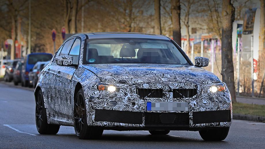 Bmw m3. По слухам, в длину BMW M3 прибавит 60 мм (до 4731 мм), а колёсная база ― 20 мм (до 2832 мм). Автомобиль можно будет укомплектовать электронноуправляемыми амортизаторами и углеродокерамическими тормозами с шестипоршневыми суппортами на передней оси.