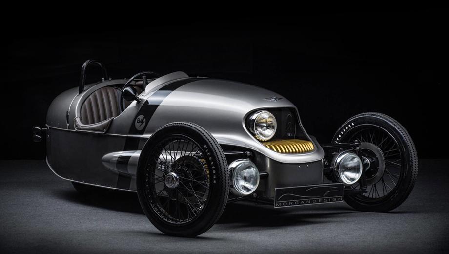 Morgan ev3. Дизайн машинки с прошлого года не изменился. Технические характеристики — тоже: задний привод, электромотор на 46 кВт (62,5 л.с.), девять секунд до сотни, максималка 145 км/ч и запас хода в 240 км.