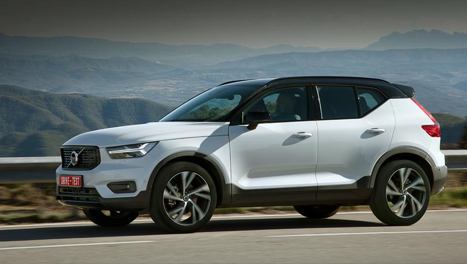 Volvo xc40. Российские цены объявят в начале года, поставки стартуют в апреле. Дешёво не будет: даже в Германии D4 AWD стоит от 44 800 евро (около 3,1 млн рублей), T5 AWD на 1300 евро дороже. С появлением моноприводных T3 c «механикой» базовая цена упадёт до 31 350 евро.