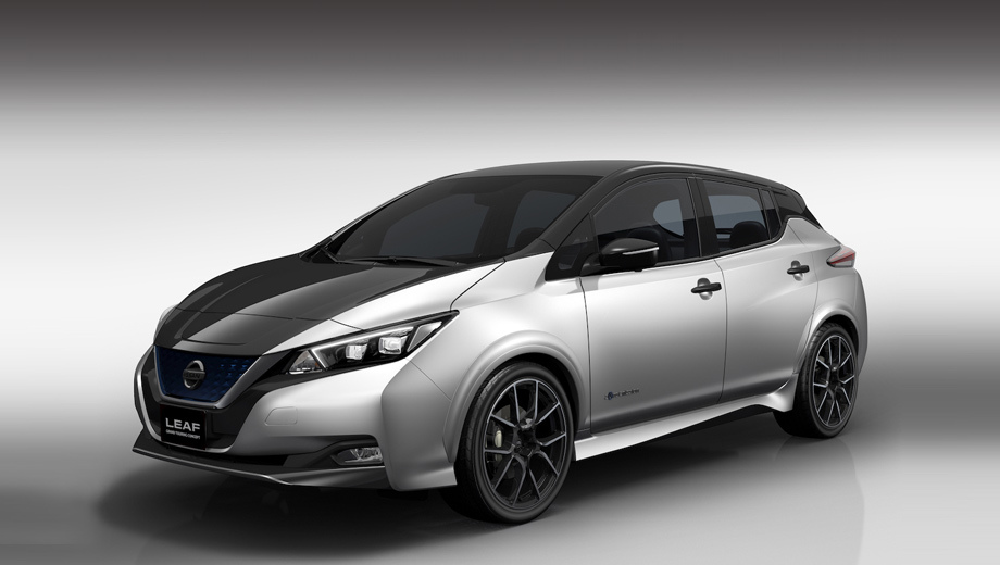 Nissan leaf. Новый концепт Лифа в целом напоминает представленный в октябре Leaf Nismo, однако всё же отличается от него бамперами и противотуманками, порогами и колёсными дисками.